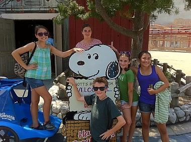 Youth at Knott's Berry Farm
