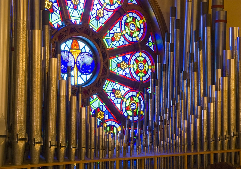 Organ Pipes & Window